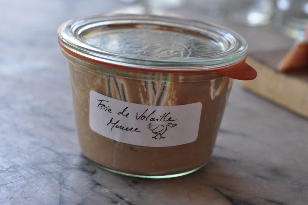 Chicken Liver Mousse, foie de volaille