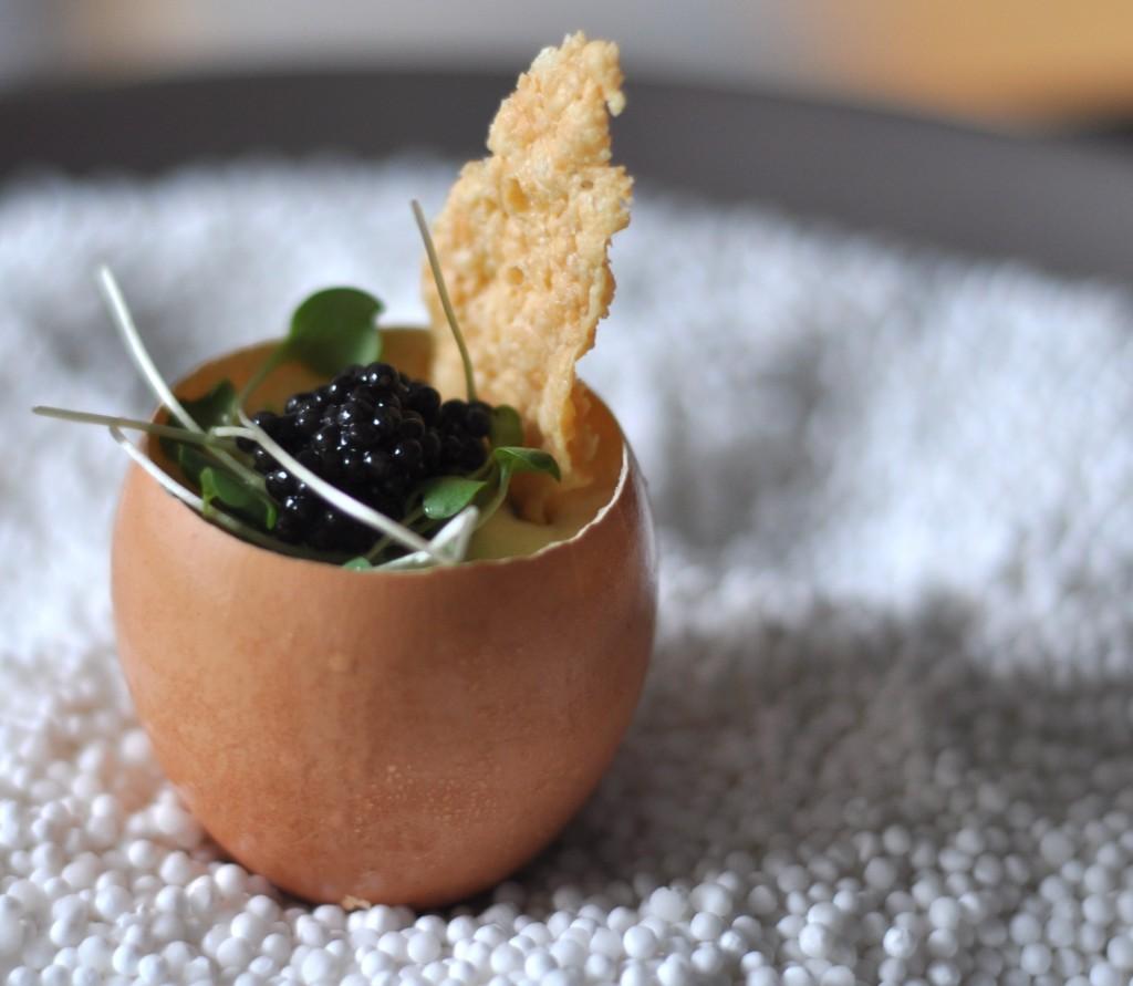 caviar egg cups