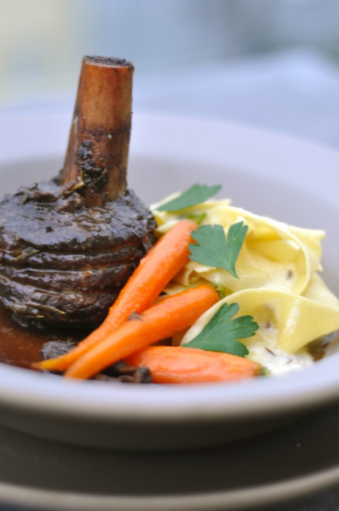 redwine braised beef shortribs
