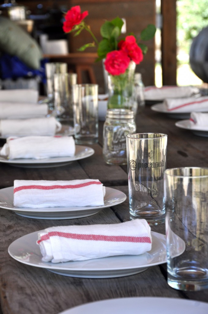 Pie Ranch Table Setting