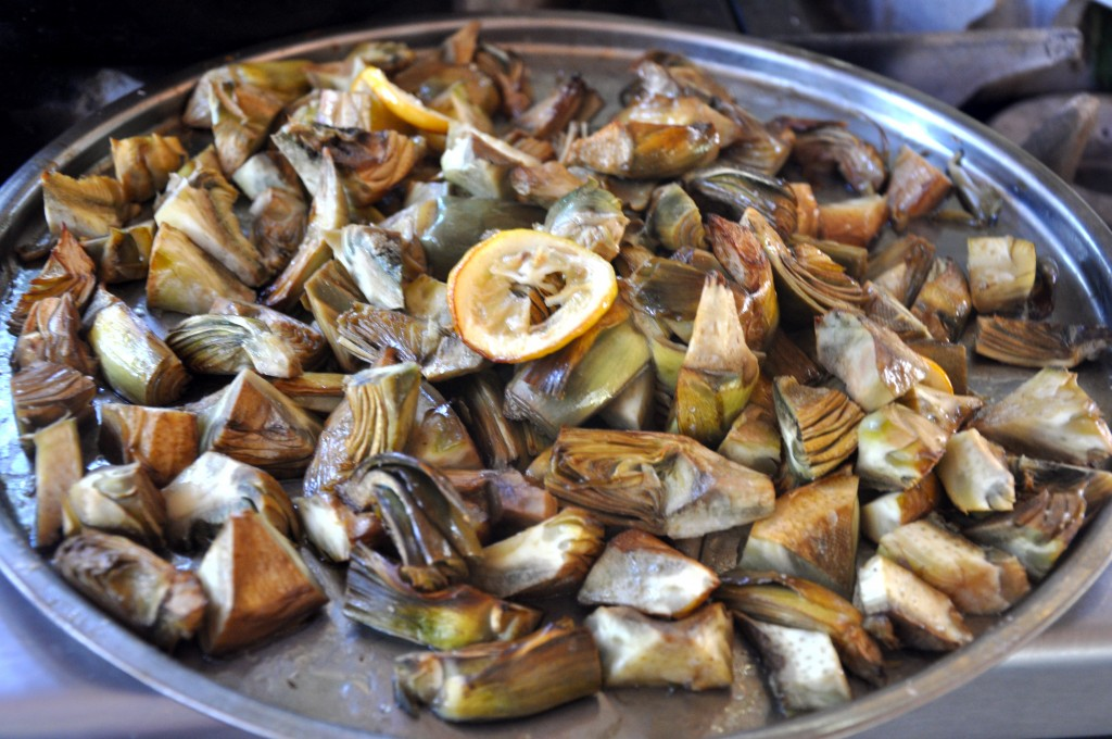 Woodfire Roasted Artichokes