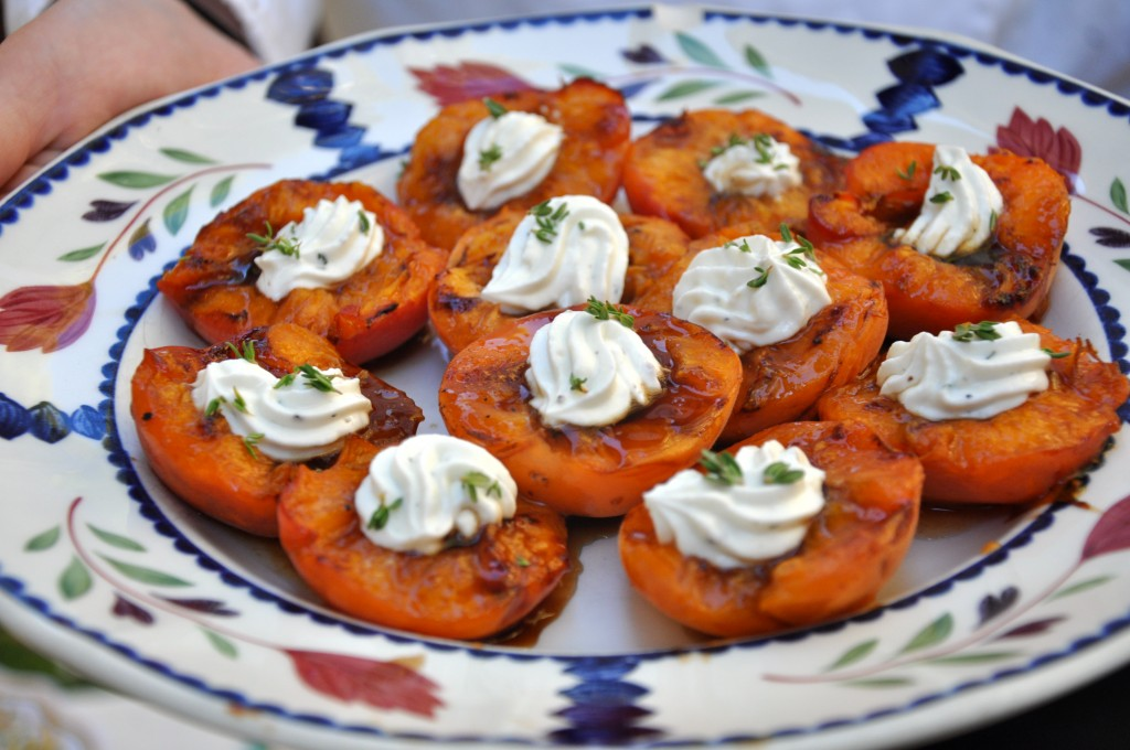 Grilled Apricot Appetizer