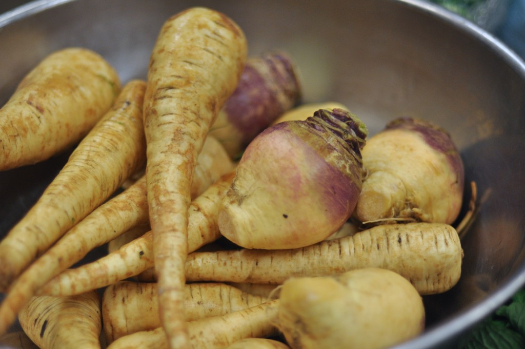 Smashed Parsnips And Rutabaga With Bay Leaf Olive Oil | Amy Glaze's ...