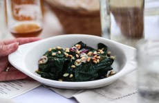 simple sautéed greens straight from the farm to the frying pan