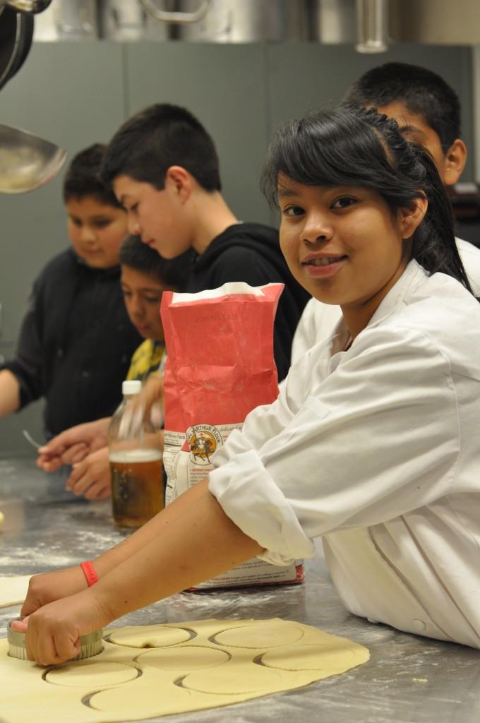 Karina with Empanada Dough