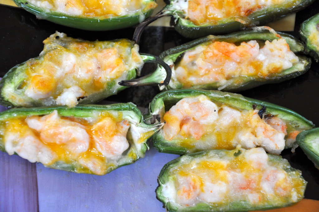 Shrimp Stuffed Jalapeños