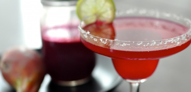 Prickly Pear Margaritas!