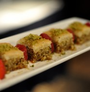 Baklava at Faz Restaurants