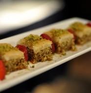 Baklava at Faz Restaurants