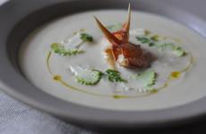 Truffled Crab & Celeriac Soup