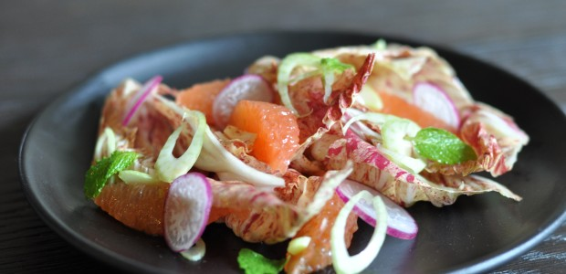 Blood Orange & Castelfranco Radicchio Winter Salad