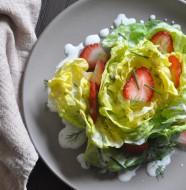 Strawberry & Bibb Lettuce Salad