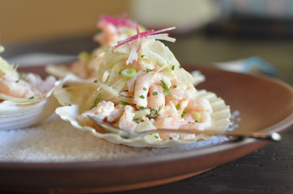 Bay Shrimp Salad with Fennel & Radish