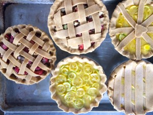 Pie Ranch Pie Bake Class: Shaker Lemon and Raspberry Rhubarb